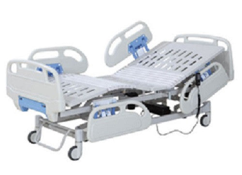 3-Function Ligth Blue Electric Bed