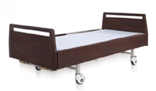 2-Wooden Plues Function Manual Bed