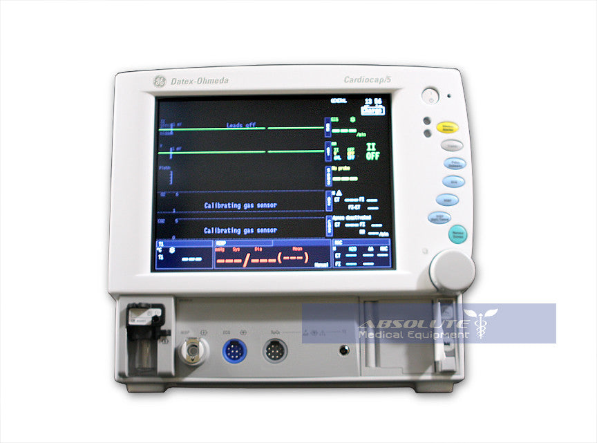 Ge Datex Ohmeda Cardiocap 5 Anesthesia Monitor Monitor