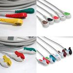 Mek Mp1000 Mp600 Mp500 Ecg Cable With Leads