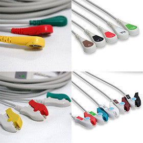 Fukuda Denshi Ecg Cable With Leads