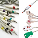 Nihon Kohden BSM EKG Cable with Leads