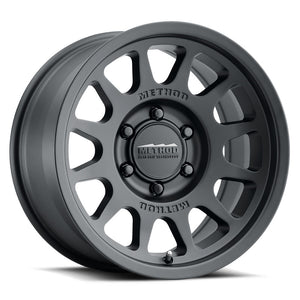 "MR70378558500 - Method Race Wheel - 17""x8.5"" - 0 Offset - Matte Black"