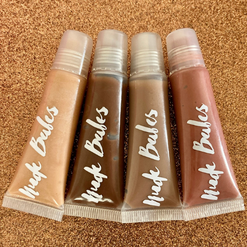 Lipgloss Bundle Brown Nudes