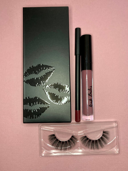 Lipstick kit and lash bundle