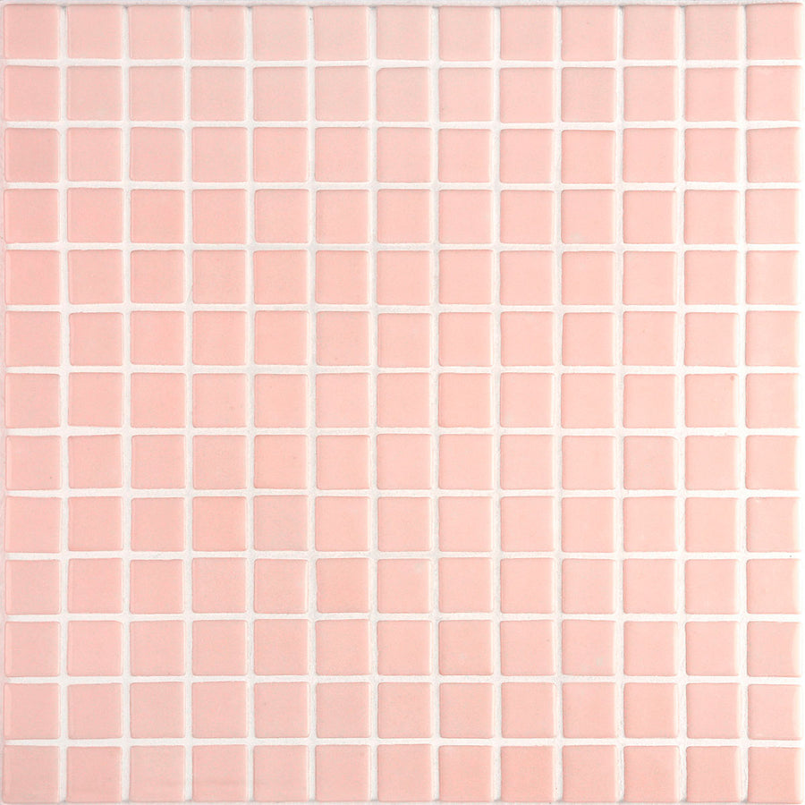 Lisa 2552-A Pink Glass Mosaic Pool Tile