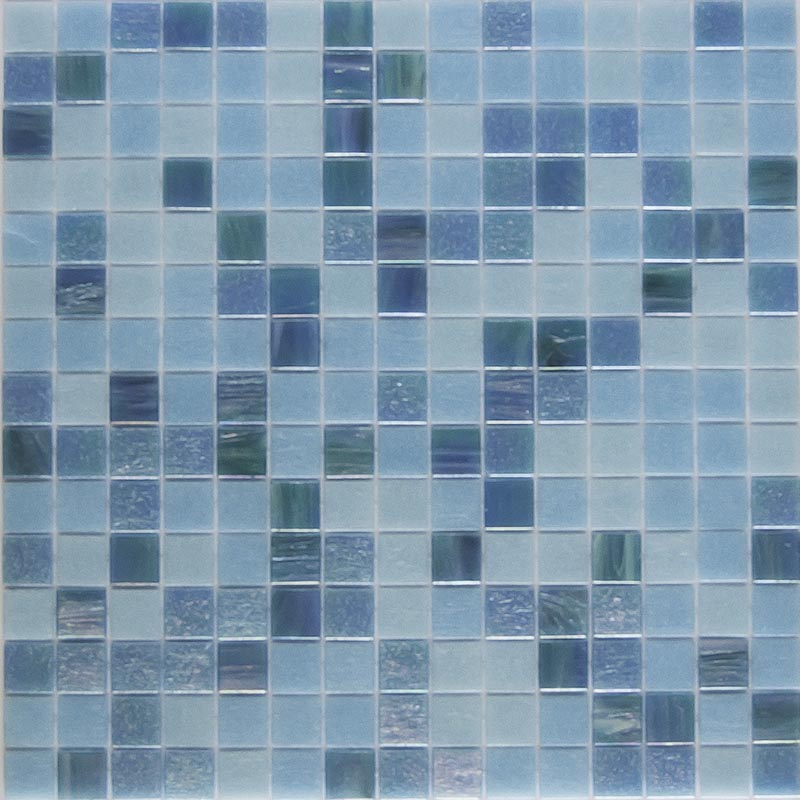 AZZURO MEDITERRANEO GLASS MOSAIC POOL TILE