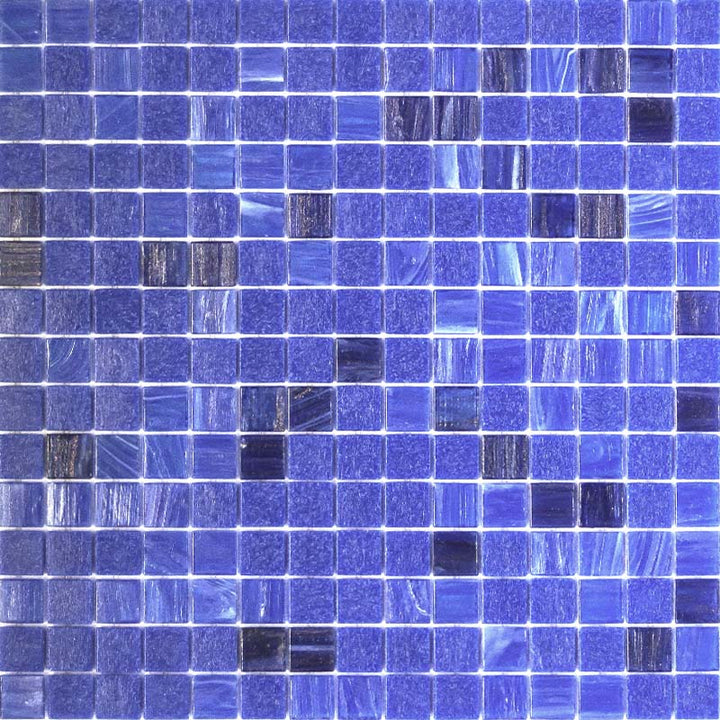 BLUE MOUNTAINS GLASS MOSAIC POOL TILE