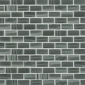 Brillante 216. Brick Glass Mosaic Pool Tile