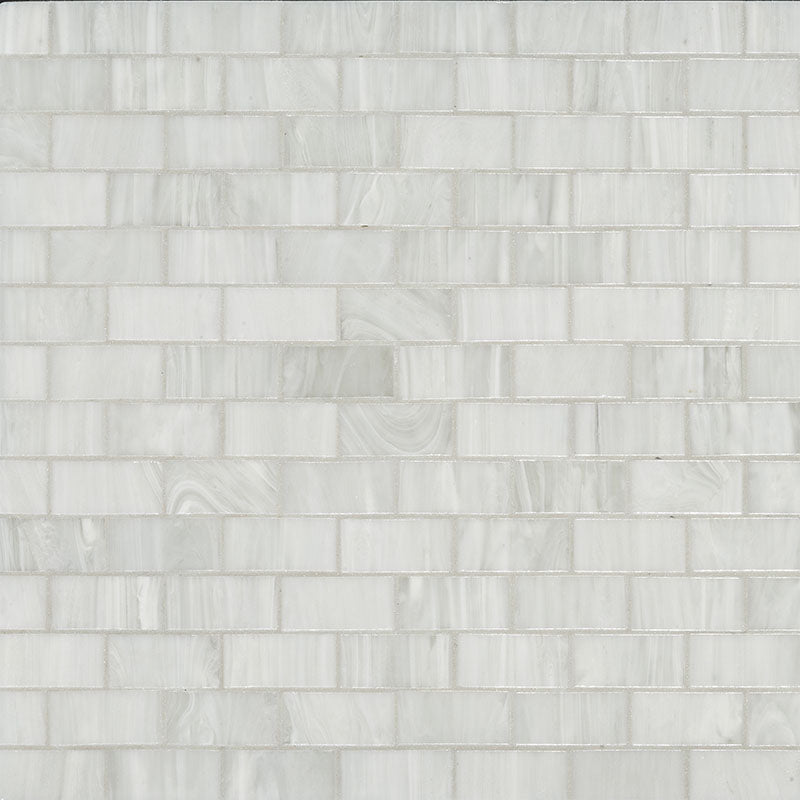 Brillante 280. Brick Glass Mosaic Pool Tile