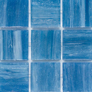 BRILLANTE 225 GLASS MOSAIC POOL TILE