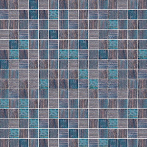 BRILLANTE 238 GLASS MOSAIC POOL TILE