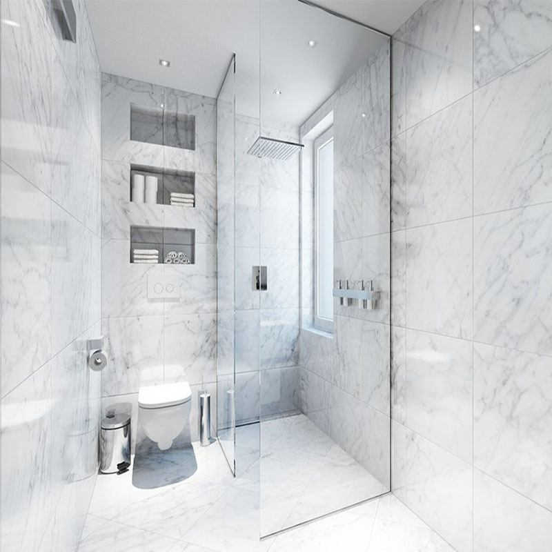 CARRARA BIANCO MARBLE PROJECT PHOTO 2