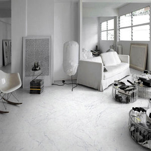 CARRARA BIANCO MARBLE PROJECT PHOTO