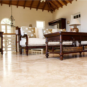 CLASSIC TRAVERTINE TILE PROJECT PHOTO 2