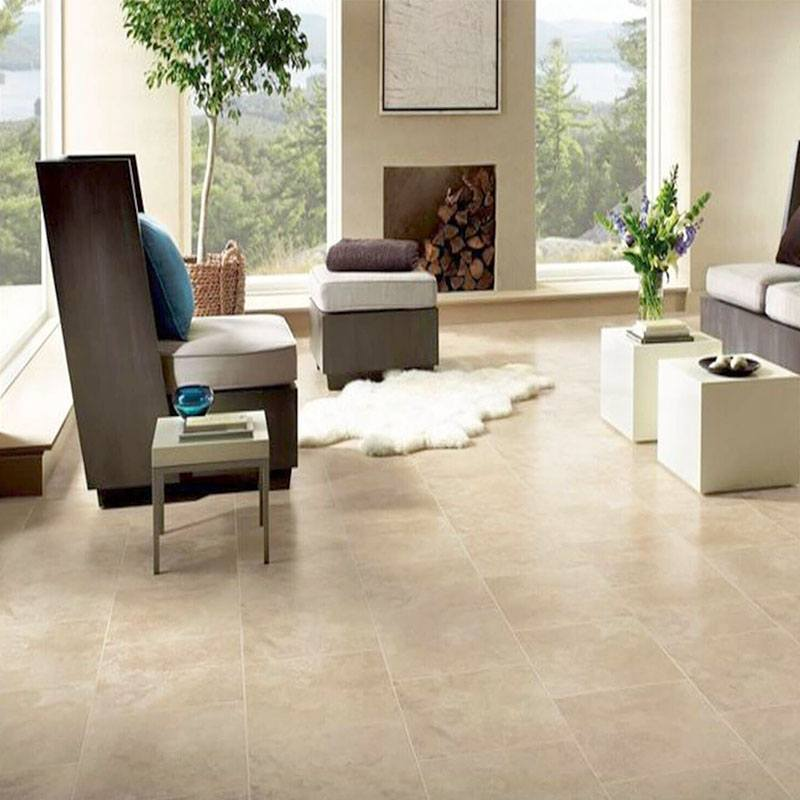 CLASSIC TRAVERTINE TILE PROJECT PHOTO