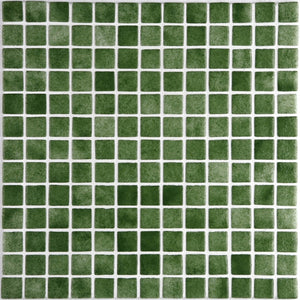 Niebla 2585-B Grass Green Glass Mosaic Pool Tile