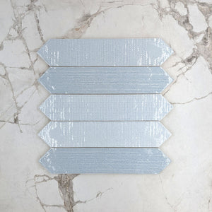 Crackle Laguna Decor Picket Porcelain