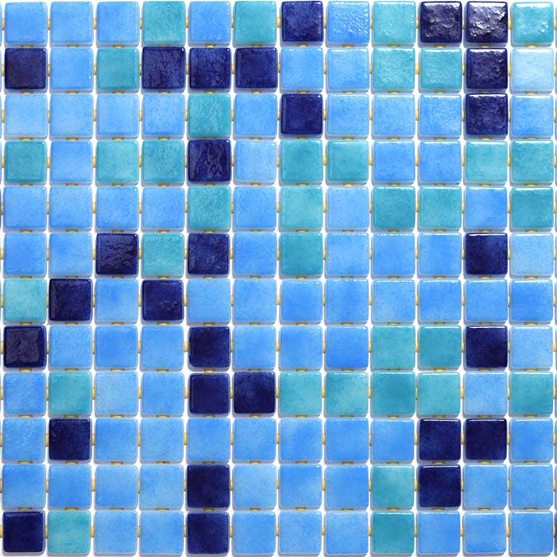 DECO-MIX 25001-C GLASS MOSAIC POOL TILE