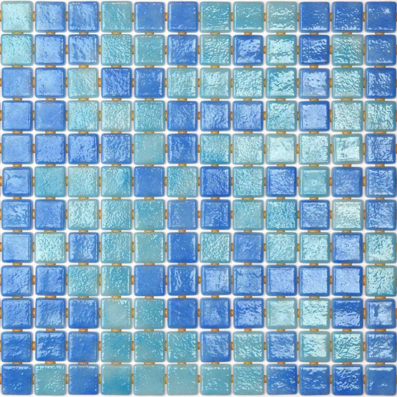 DECO-MIX 25004-B GLASS MOSAIC POOL TILE