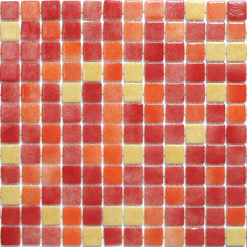 DECO-MIX 25006-D GLASS MOSAIC POOL TILE