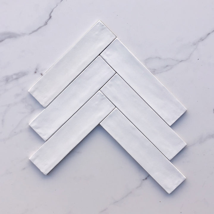 Florence White Subway Porcelain 240x60