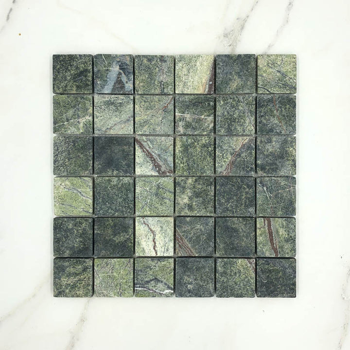 Green Forest Marble Mosaic
