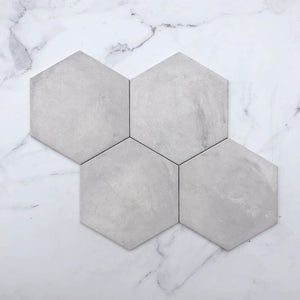 Grigio Italain Hexagon Porcelain