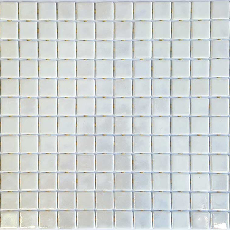 METALLIC NICKEL GLASS MOSAIC POOL TILE