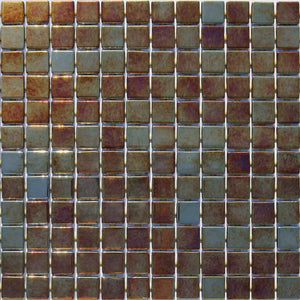 METALLIC OXIDO GLASS MOSAIC POOL TILE