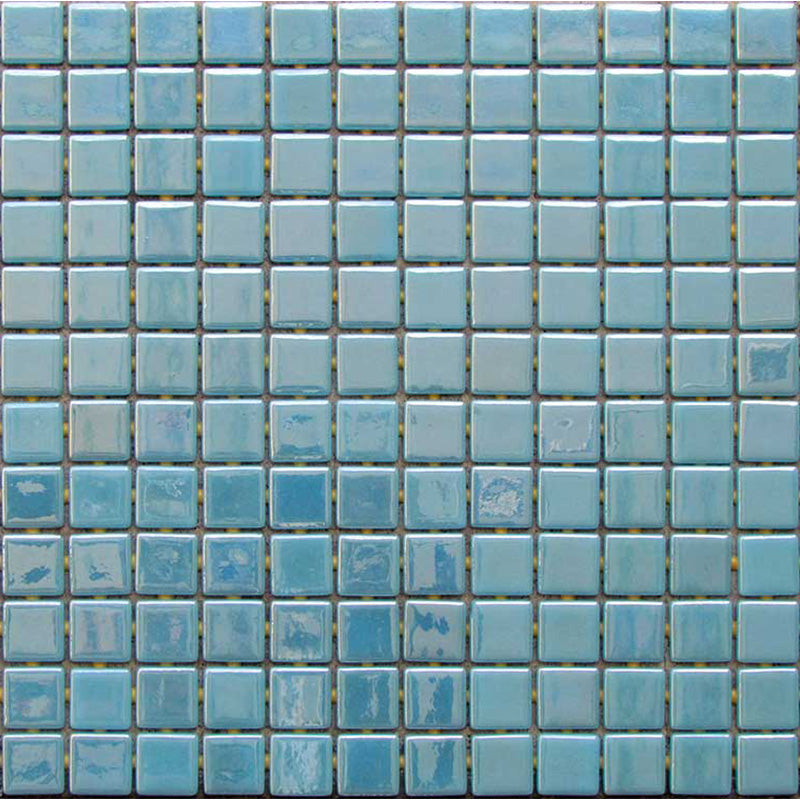 METALLIC VANADIUM GLASS MOSAIC POOL TILE