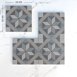 Moroccan Porcelain Pattern 17 Dimension