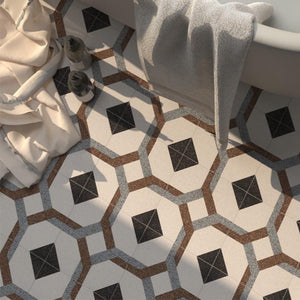 Moroccan Porcelain Pattern 26 - Project Photo