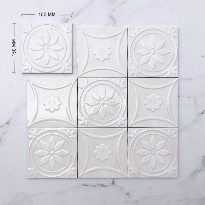 Moroccan Porcelain Pattern 30 Dimension