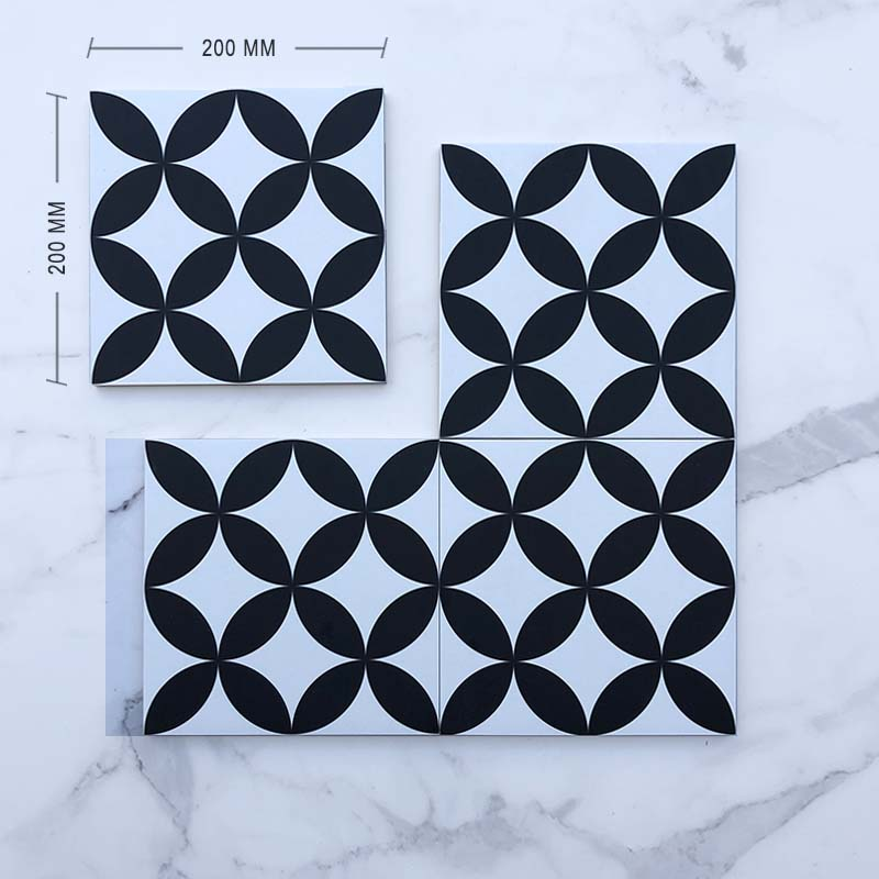 Moroccan Porcelain Pattern 5 Dimension