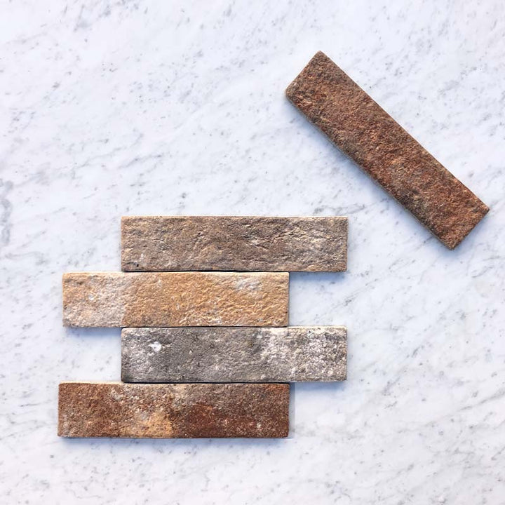 Multicolour Paddington Brick Vertical Brick Bond