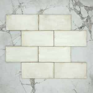 Newtown White Matt Subway Porcelain 200x100