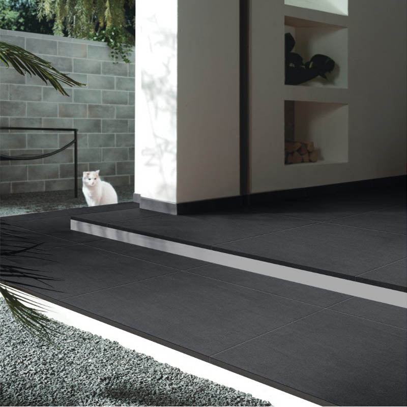 Piccadilly Nero 20 mm Porcelain Paver