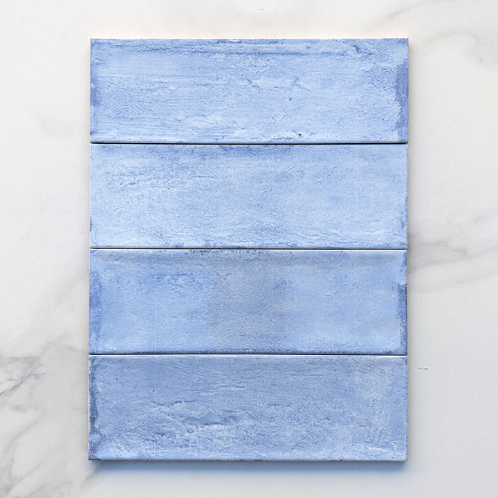 Rustic Sea Blue Spanish Subway Ceramic 300x100
