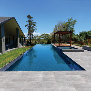 Shell Grey 20 mm Porcelain Paver Project Photo