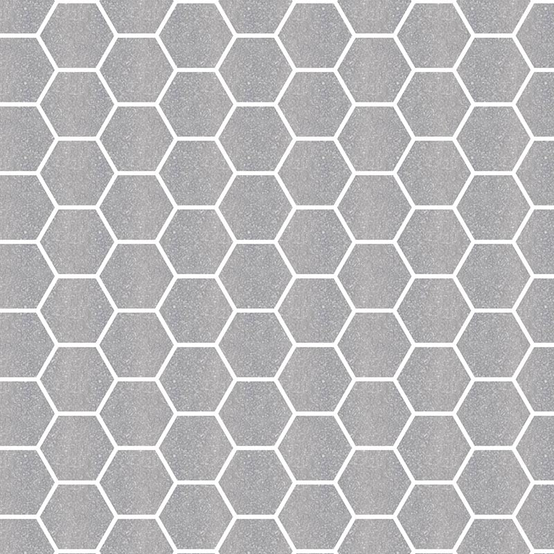 TREND HEX-152 GLASS MOSAIC POOL TILE