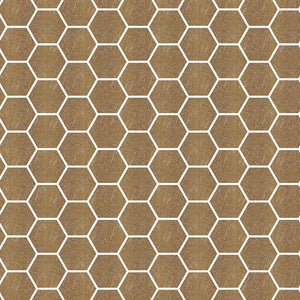TREND HEX-182 GLASS MOSAIC POOL TILE