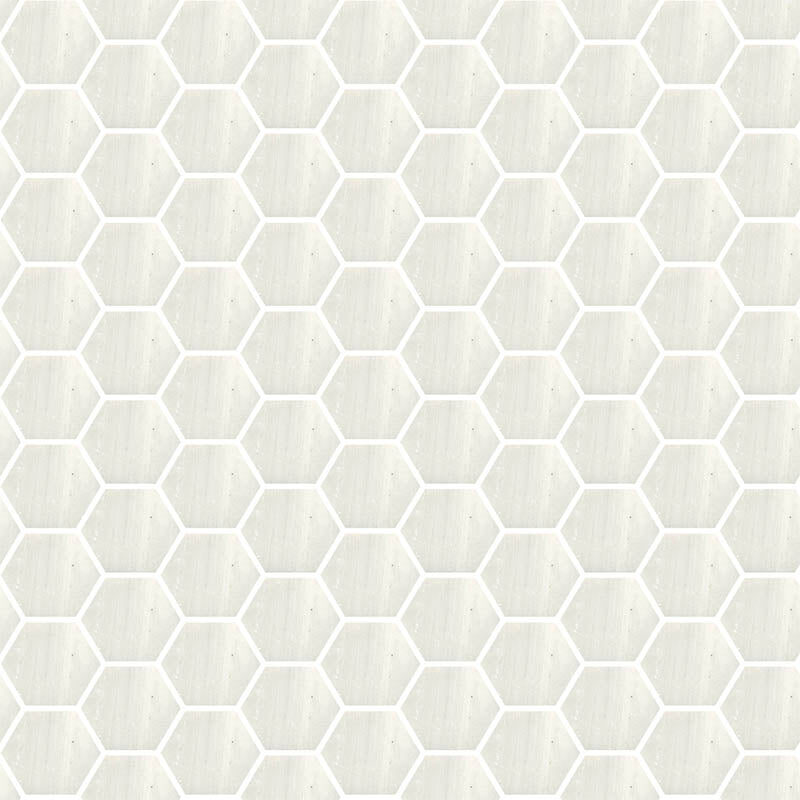 TREND HEX-280 GLASS MOSAIC POOL TILE