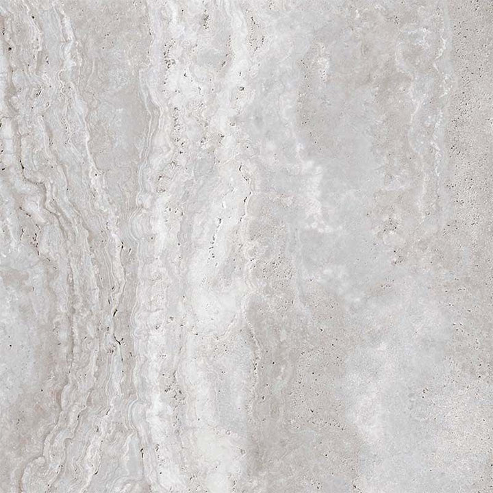 Travertine Silver Porcelain