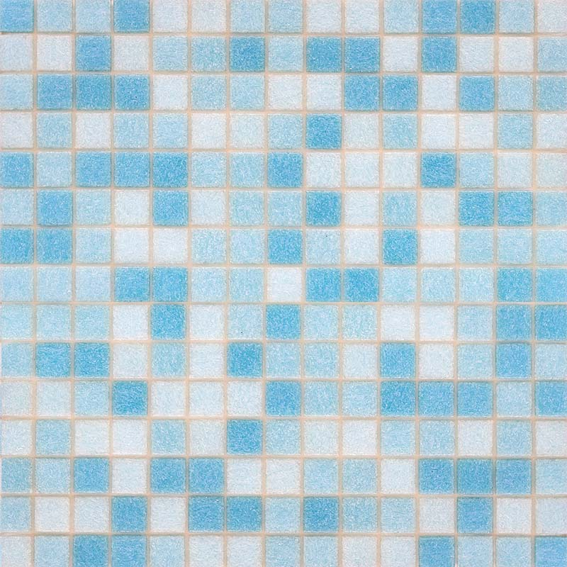 TROPICAL SUN GLASS MOSAIC POOL TILE