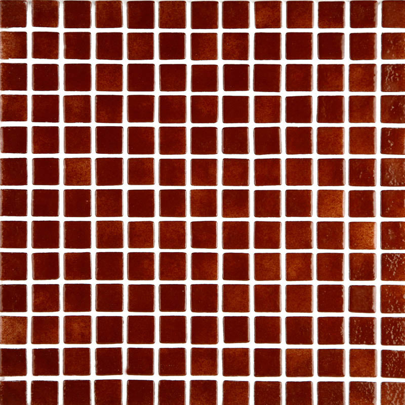 Niebla 2504-A Brown Glass Mosaic Pool Tile