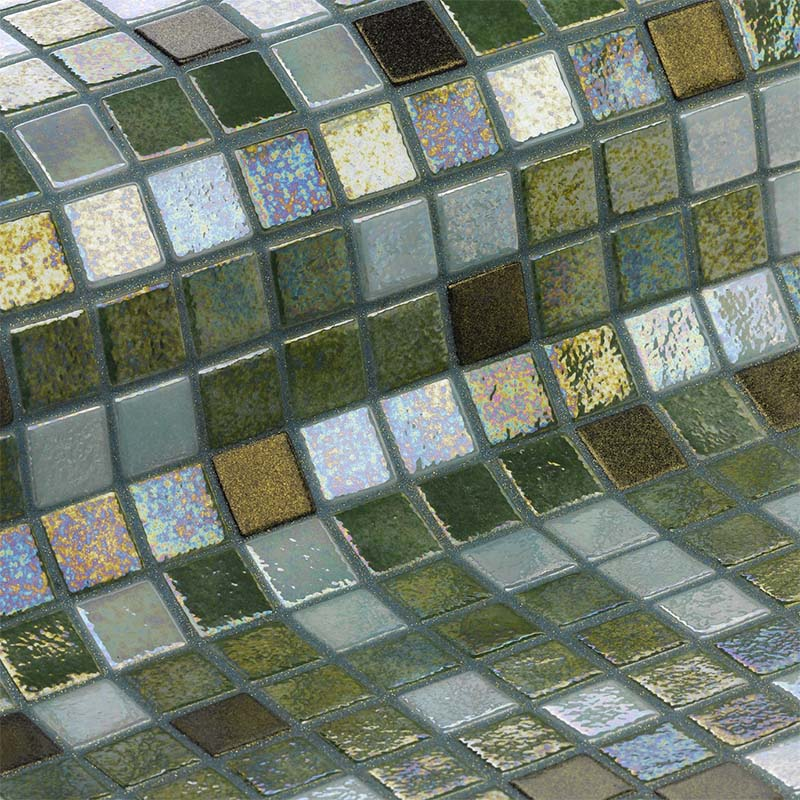 Cocktail Grasshopper Glass Mosaic Pool Tile