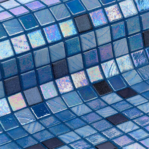 Cocktail Long Island Glass Mosaic Pool Tile