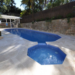 AUS Topaz Glass Mosaic Pool Tile