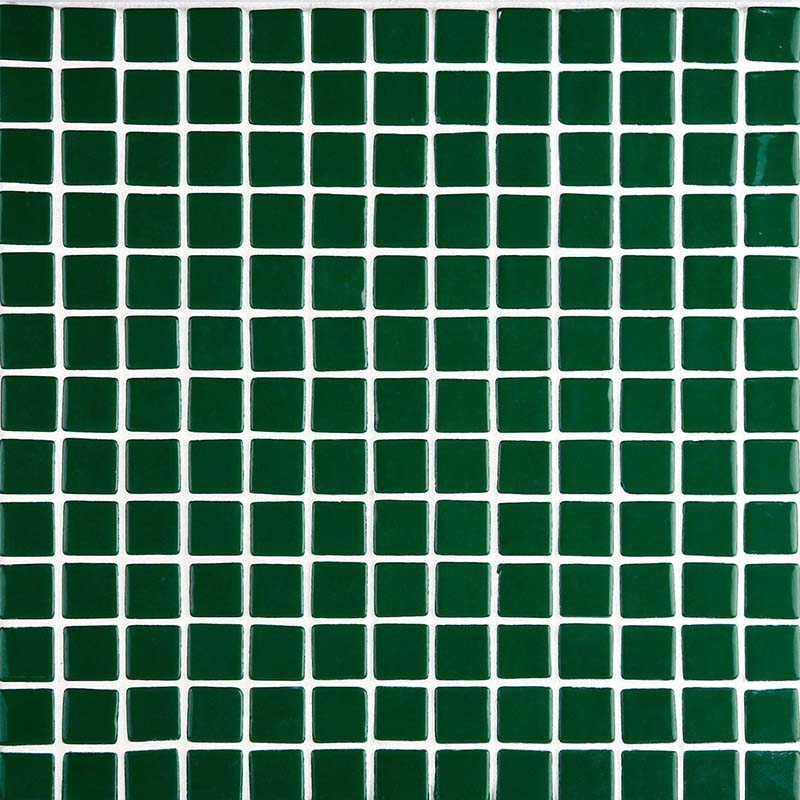 Lisa 2555-C Dark Green Glass Mosaic Pool Tile